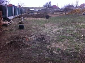 záhrada pred.....