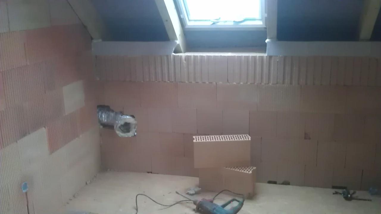 Práce v interiéru - Vyýstění horkovzduchu v pokojíku