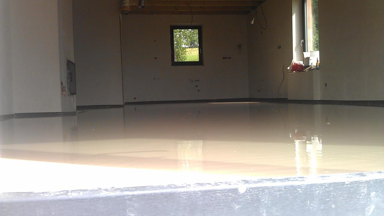 Práce v interiéru - Přízemí hotové