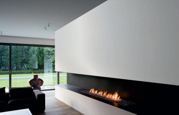 Obývací pokoj a kuchyn ispirace - biokrb