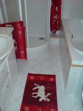 naše vánoční koupelna