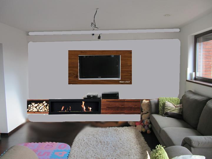 Obývací pokoj, jídelna a kuchyň realita - nový návrh?... co vy na to?
