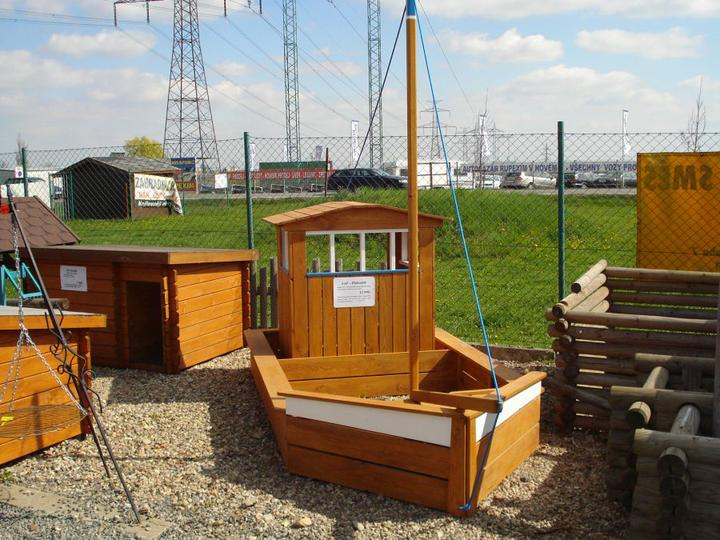 Pro děti na zahradu - pískoviště lod