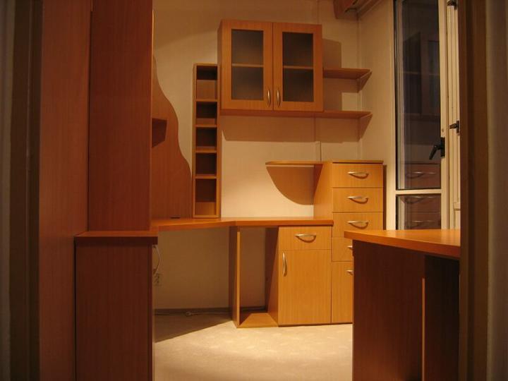 Byt - naše první společné bydlení - manzelova pracovna