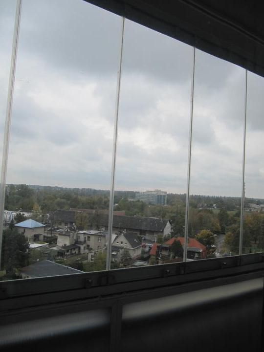Byt - naše první společné bydlení - zasklený balkon