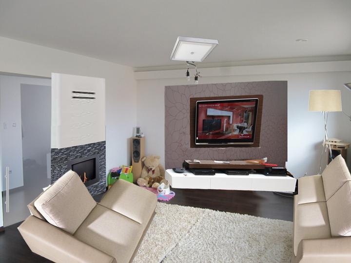 Obývací pokoj, jídelna a kuchyň realita - Obrázek č. 27