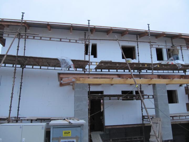 Stavba domu - 4.11.2010