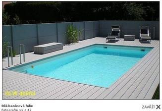 bílá bazénová folie, líbí se mi nejvíce, máte zkusenost?