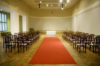 Náš sál na obřad