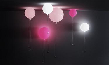 fantastické osvětlení - balonky