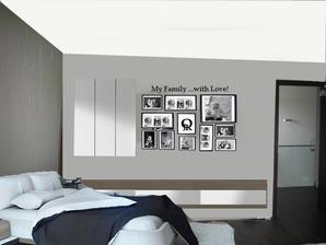 moje vizka ložnice - jsem spokojena :) nekopirovat prosím!