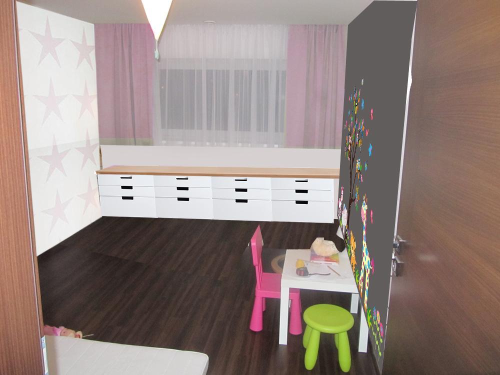 Pokojíček inspirace - seda stena - asi je to tmave, smutne
