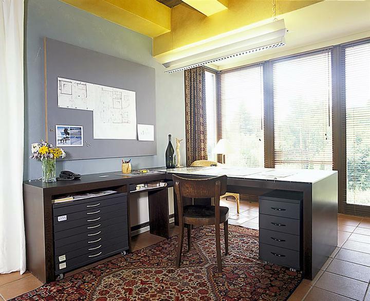 Pracovna, vestavěné skříně - Obrázek č. 30