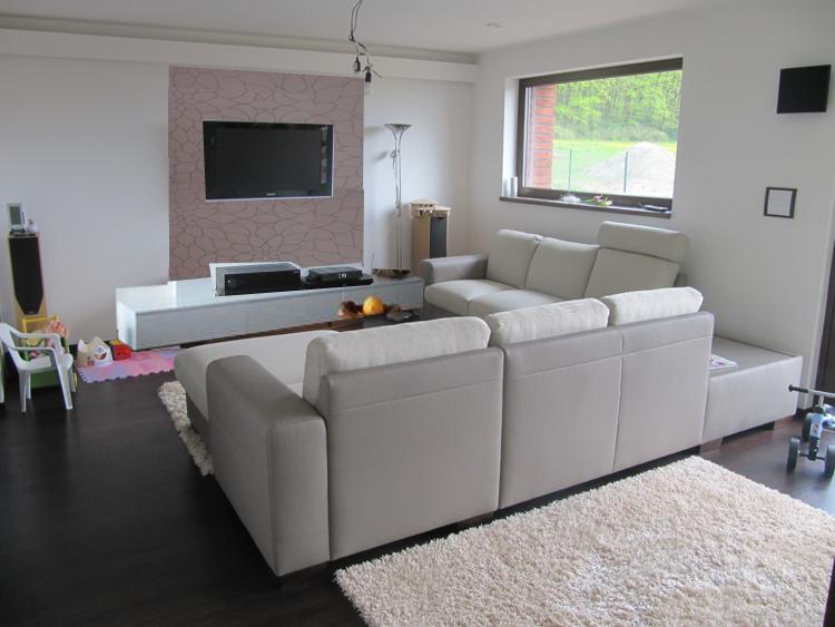 Obývací pokoj, jídelna a kuchyň realita - Obrázek č. 24
