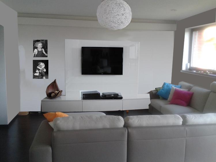 Obývací pokoj, jídelna a kuchyň realita - a s lustrem