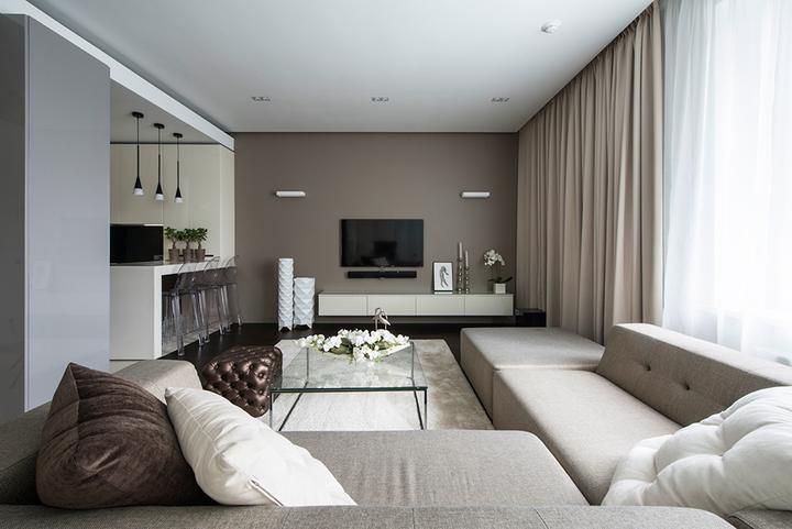 Obývací pokoj a kuchyn ispirace - Obrázek č. 4