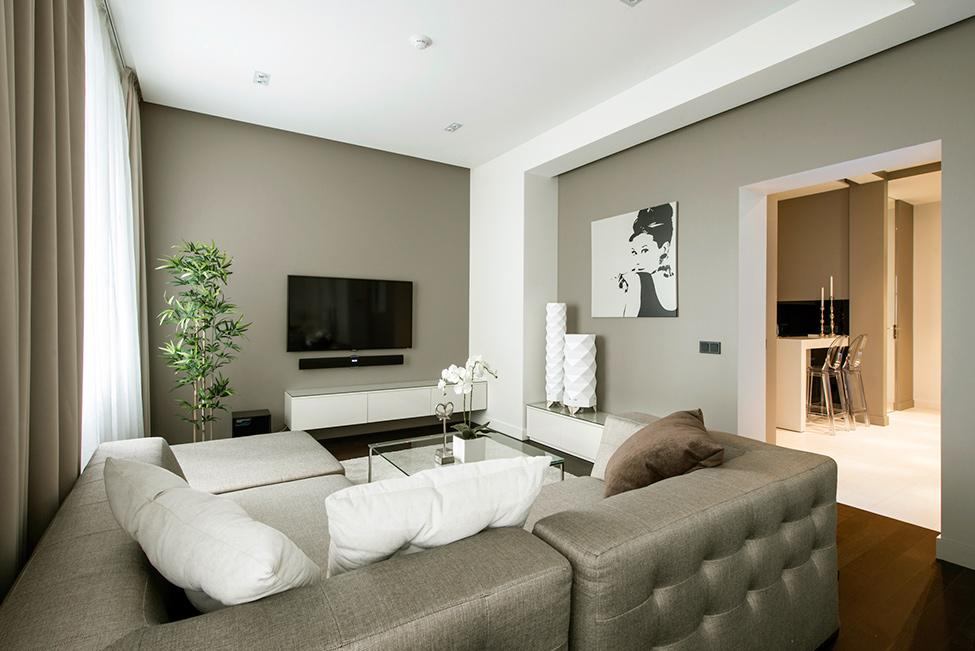 Obývací pokoj a kuchyn ispirace - Obrázek č. 12