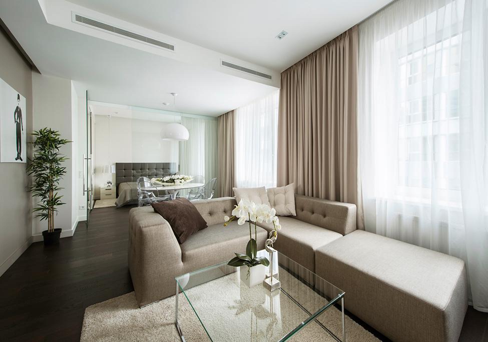 Obývací pokoj a kuchyn ispirace - Obrázek č. 1