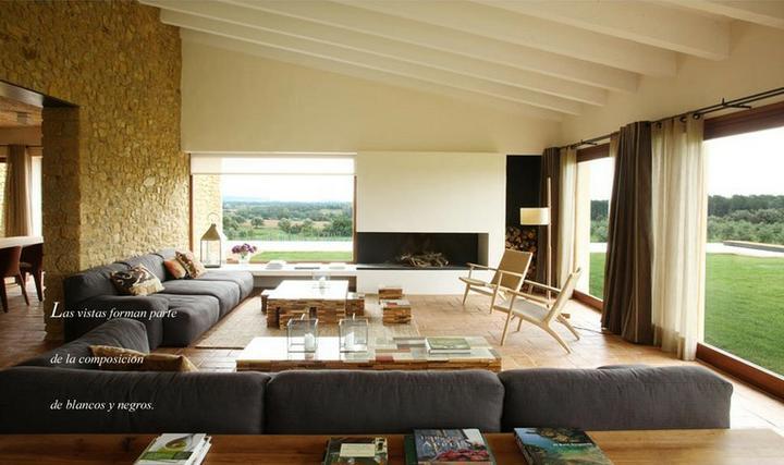 Obývací pokoj a kuchyn ispirace - Obrázek č. 21