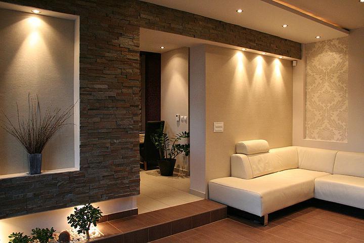 Obývací pokoj a kuchyn ispirace - Obrázek č. 80