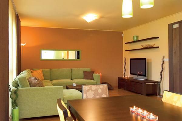 Obývací pokoj a kuchyn ispirace - Obrázek č. 82