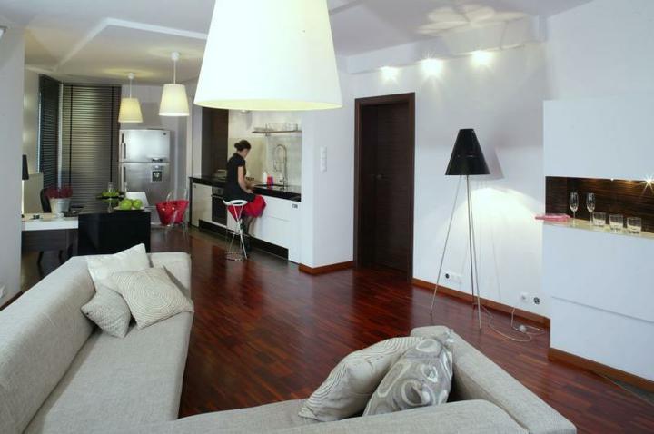 Obývací pokoj a kuchyn ispirace - Obrázek č. 18