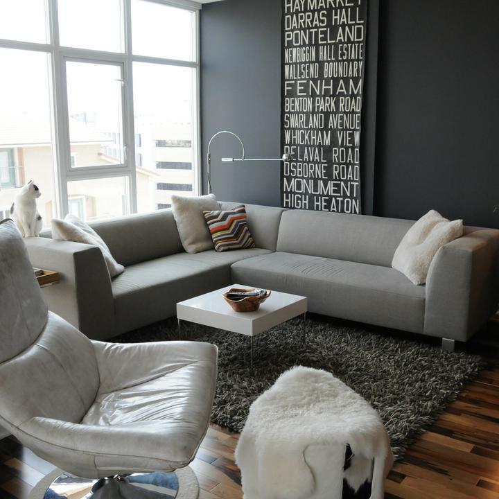 Obývací pokoj a kuchyn ispirace - Obrázek č. 53