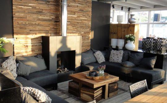 Obývací pokoj a kuchyn ispirace - Obrázek č. 129