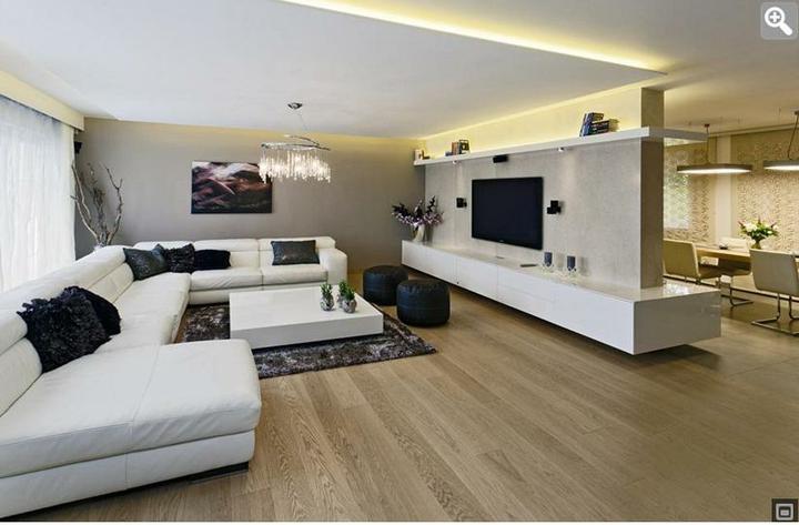 Obývací pokoj a kuchyn ispirace - Obrázek č. 236