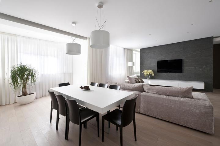Obývací pokoj a kuchyn ispirace - Obrázek č. 238