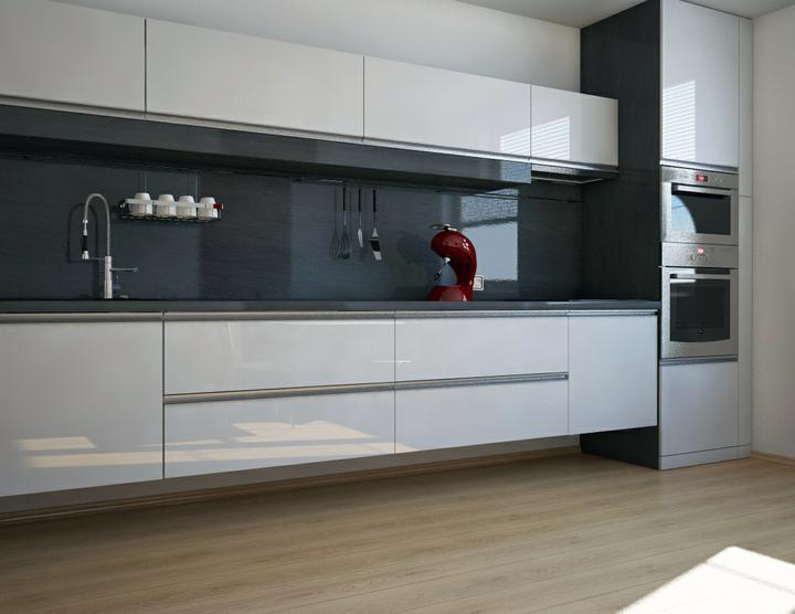 Obývací pokoj a kuchyn ispirace - Obrázek č. 214