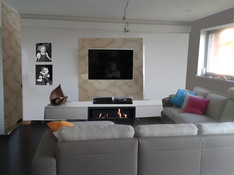 Obývací pokoj, jídelna a kuchyň realita - Obrázek č. 17