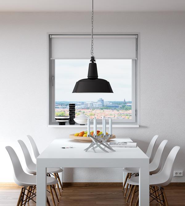 Obývací pokoj a kuchyn ispirace - roletka na okne :)