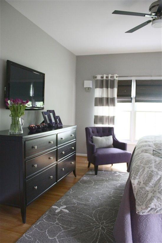 Ložnice - homoda hemnes a nad ni tv