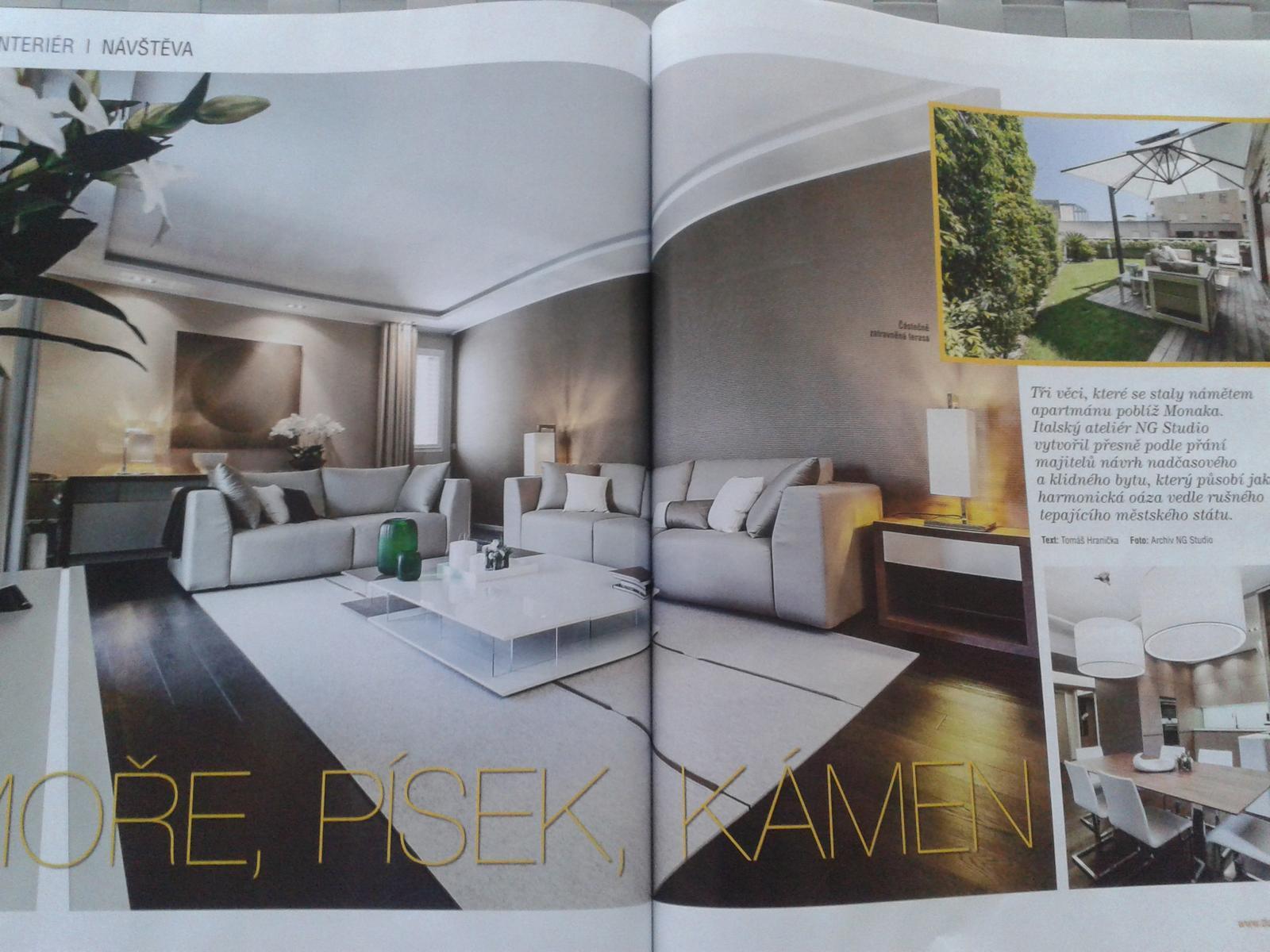 Obývací pokoj a kuchyn ispirace - Obrázek č. 253