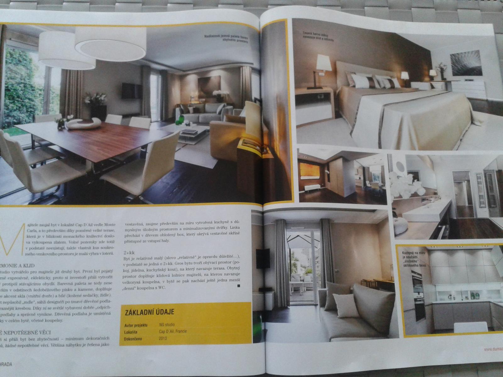 Obývací pokoj a kuchyn ispirace - Obrázek č. 254