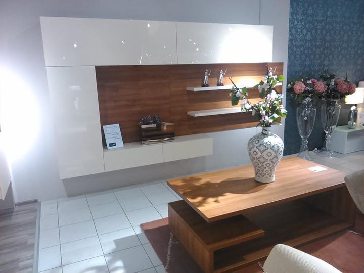 Obývací pokoj a kuchyn ispirace - home art autor fotky lucinkafr
