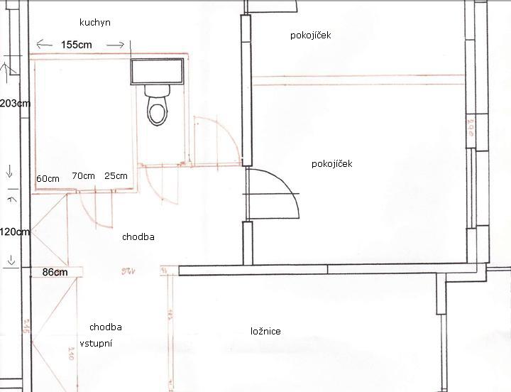 Mala panelakova koupelna - koty