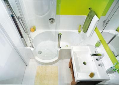 Mala panelakova koupelna - toto by vyresilo vse, ale obavam se funkcnosti a cena je vysoka