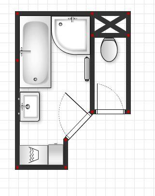 Mala panelakova koupelna - Navrh 4. od @lucka1511