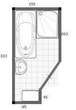 upraveny navrh 4. dvere posuvne, sprcha 80x100cm, vana 170cm