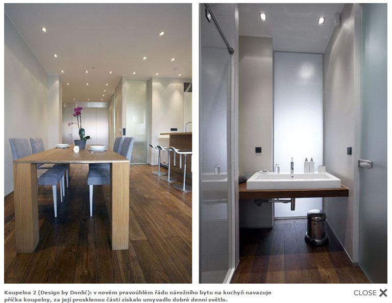 Mala panelakova koupelna - prosvetleni koupelny