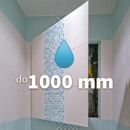 Mala panelakova koupelna - vodeodolna revizni dvirka