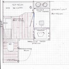 finální návrh nové koupelny