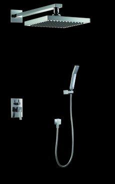 Mala panelakova koupelna - sprchový podomítkový set perfecto cca 8000Kc