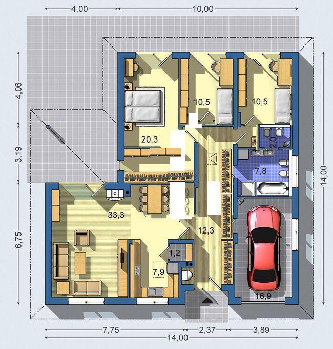 Půdorysy, domy - chicca555