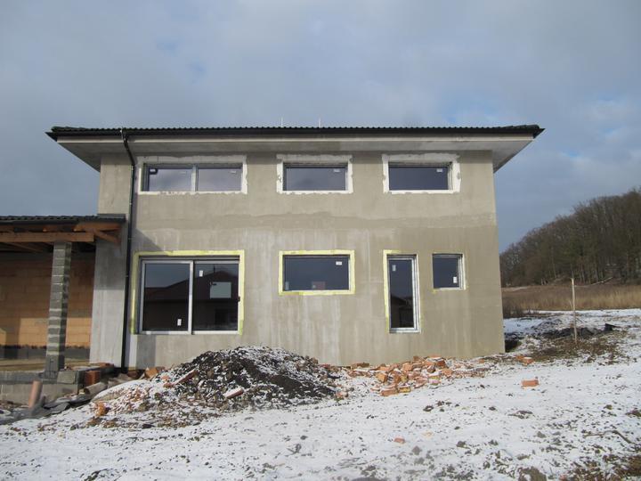 Stavba domu - 24.1.2011 okna gromathic