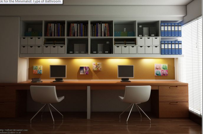 Pracovna, vestavěné skříně - Obrázek č. 127