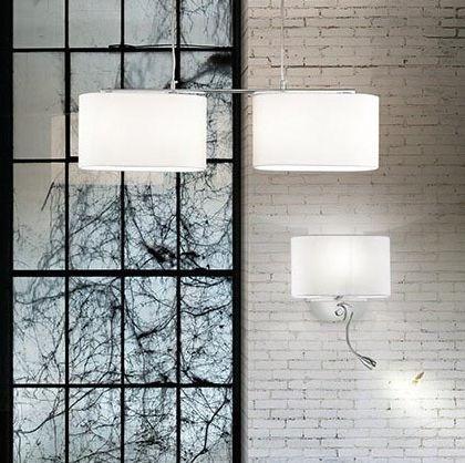 Ložnice - Nástěnné svítidlo SHERATON AP2 BIANCO 1704Kč