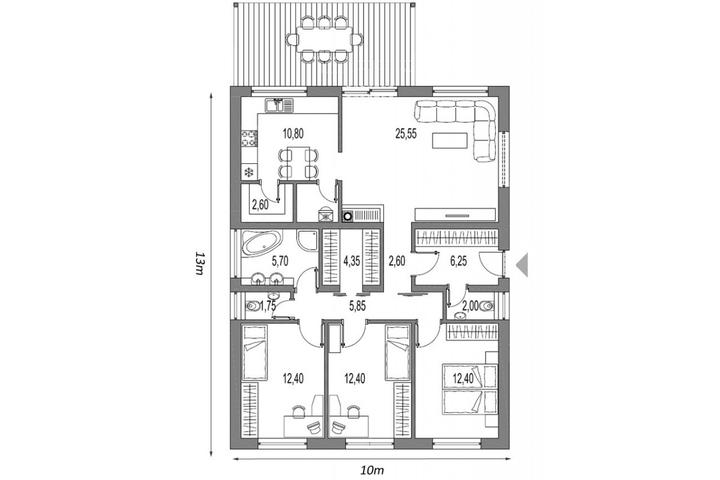 Půdorysy, domy - Obrázek č. 63